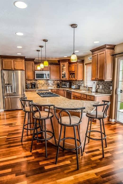 Gulvafslibning kan give køkkenet et helt nyt liv